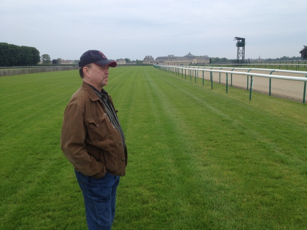 The Chantilly backstretch, on the morning of the 2014 Prix du Jockey Club